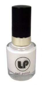 Laura Paige Nail Varnish - Arctic White No. 09